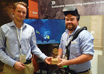 The winner of BASF's Master Sprayer contest.