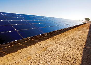 The Mohammed bin Rashid Al Maktoum Solar Park in Dubai ... alternative energy to the fore.