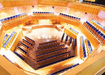 The Sheikh Jaber Al Ahmad Cultural Centre ... complex geometric shapes.