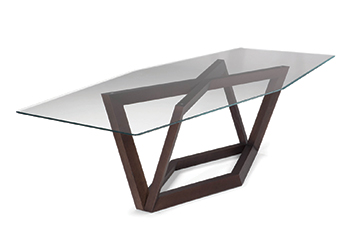 The Hex dining table from Natuzzi.