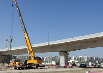 Abu Dhabi Airport road ... $185-million upgrade.