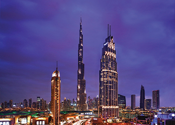 The Address Boulevard by Emaar Hospitality Group.
