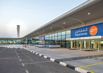 Al Maktoum airport ...key contract for Cavotec.