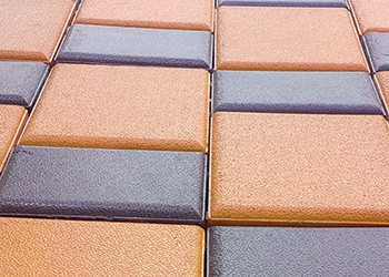 Pavers from Protile ... targeted at the high-end market.