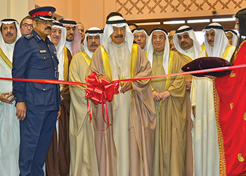 Flashback ... Bahrain's Prime Minister inaugurates the 2016 edition.