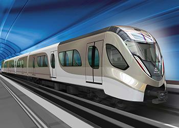Doha Metro ... well under way.