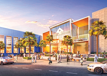 The new mall will offer a variety of retail concepts.