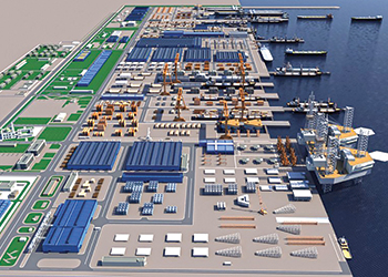 The King Salman International Complex for Maritime Industries and Services... to house MDR's proposed facility.