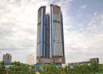 Damac Towers by Paramount Hotels & Resorts ... due for completion this year.