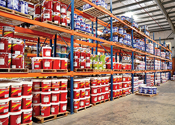 Middle East Paints ... well stocked.