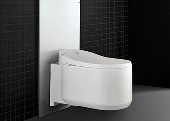 Grohe Sensia Arena ... inspired by Japan's high standards in hygiene culture.