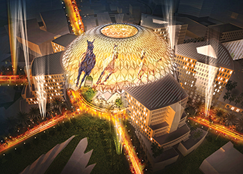 Al Wasl at Expo 2020.