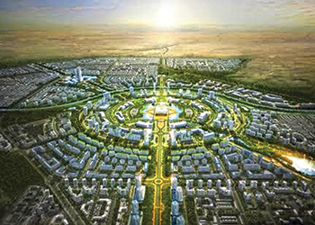 Kuwait's proposed smart city ... to be built by South Korean firms.