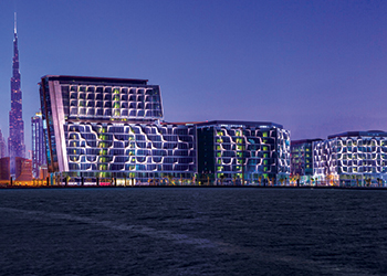 "Dubai Design District ... brings a ""hub for collaboration and interaction"" to Dubai's design world."
