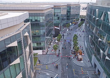 D3 ... Technal has supplied systems for a façade area of 64,000 sq m.