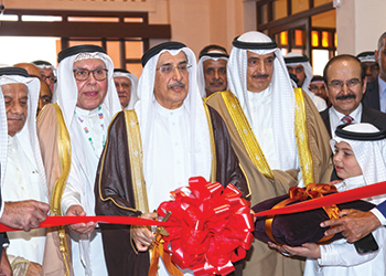 Bahrain's Deputy Premier Shaikh Khalid inaugurated the shows.