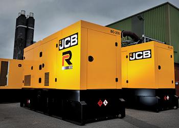 JCB's RS generators ... new range.