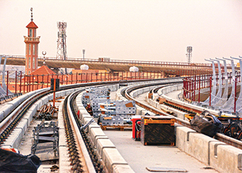 Work on the Riyadh Metro is being carried out by three major consortiums.