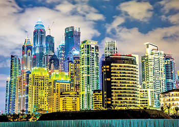 Dubai's real estate market is gaining momentum.