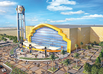 Technal products were installed at the Leed-certified Warner Bros theme park in Abu Dhabi.