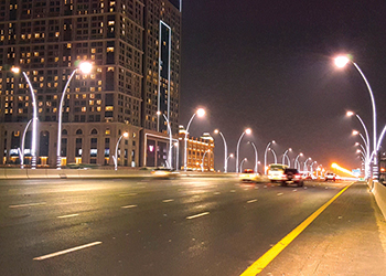 Smart lighting ... on cards for other areas of Dubai.