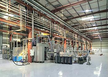 Zamil Alpla Plastics facilities ... the extension involves three primary buildings.