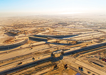 L&T is working on the Al Wakrah bypass in Doha.