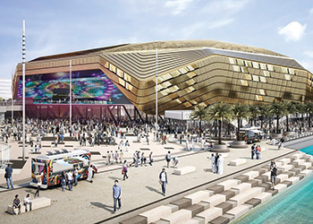 Yas Arena ... can be expanded from a 500-seat theatre to an 18,000-capacity venue.