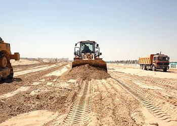 Infrastructure development under way at The Palisades.