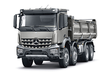 Actros ... among the most versatile of Mercedes-Benz's construction vehicles available in the Middle East.