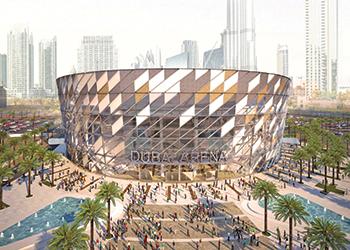 The Dubai Arena ... Kier has won the construction contract.