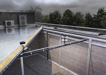 Pluvia system ... can be laid horizontally, which maximises space and provides greater design freedom.