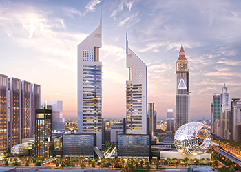 The Emirates Towers Business Park  ... construction to commence by the year-end.