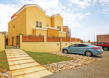 "Al Talah Gardens... ""on par with top residential developments""."
