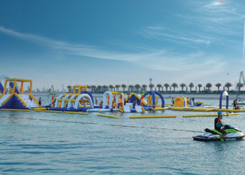 The XDubai Kite Beach Skatepark is the largest of its kind in the region.
