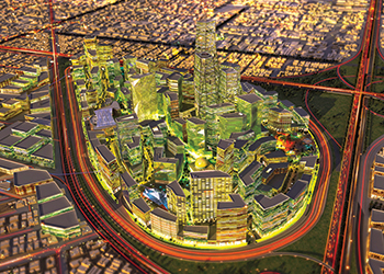 King Abdullah Financial District ... a key project for Le Beck.
