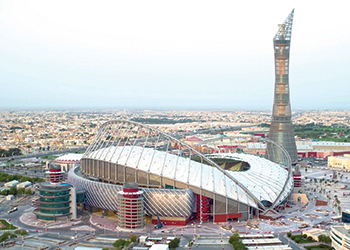 Khalifa International Stadium ... 40,000-seat capacity.