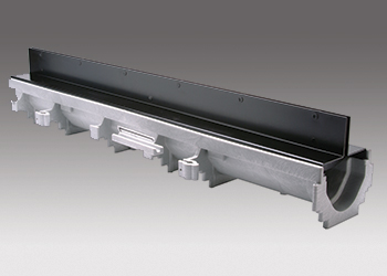The Z886 Perma-Trench linear trench drainage system ... lightweight.