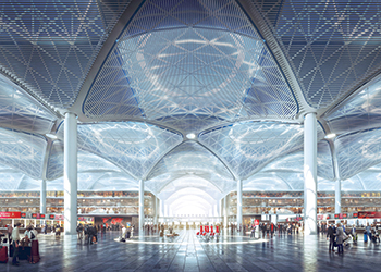 New Istanbul Airport ... first phase to open next year.