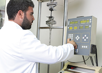 API has one of the most advanced laboratories in the region for pipe quality control.
