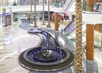 Al Ghurair Centre uses LED lighting.