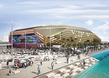 Yas Arena ... an iconic development on the anvil for Yas Island.