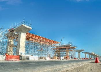 RMD Kwikform ... helping shape Doha Metro's Red Line South.