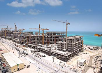 Mamsha Al Saadiyat ... nine medium-rise residential towers over 1.4 km of the beach.