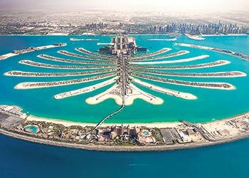 Royal Atlantis Resort ... taking shape at the Palm Jumeirah.