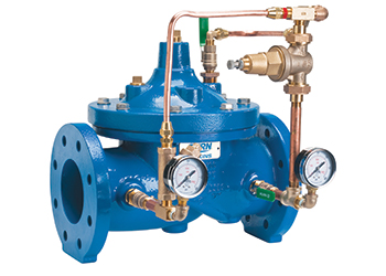 Zurn Wilkins ZW209 ...pilot-operated automatic control valve.