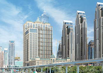 Habtoor City residences ... nearing completion.