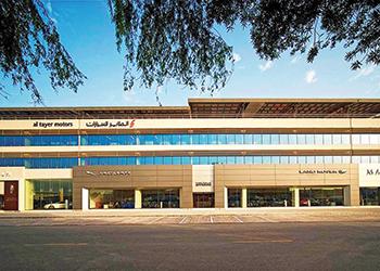 Al Tayer Motors showroom in Dubai.