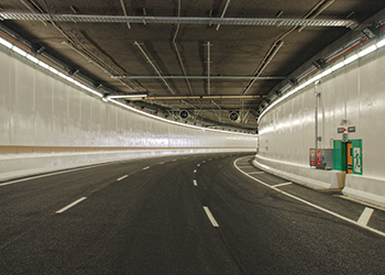 The Victoria Park Tunnel ... Beele developed a special system for the project.