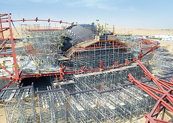 Bee'ah HQ ... formwork solutions from Peri.